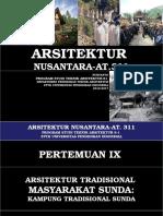 Nuryanto Pertemuan IX Arsitektur Sunda