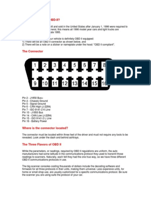 Does My Car Have OBD pdf   Private Transport   Transport