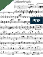 Andras Derecskei - Solo Violin Sonata No. 1