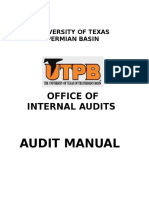 Utpb Internal Audit Manaul II 2010