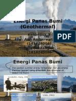 Energi Panas Bumi (Geothermal)