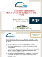 Atomic Emission Spectroscopy Market To Expand As Advances In Flame Emission Spectroscopy   IndustryARC