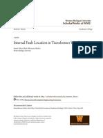 Internal Fault Location in Transformer Windings