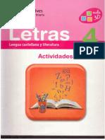Caderno Lengua 4º Vicens Vives