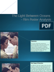 The Light Between Oceans Poster Analysis