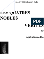 Les Quatres Nobles Vérités (l'Universalité de La Souffrance, Sa Source, Son Extinction Et La Libération Finale de l'Homme)_k2opt
