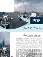 MEK Marine Turbochargers Spare Parts