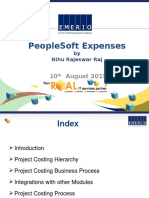 PeopleSoft Expenses