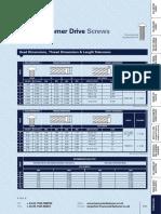 Type U Hammer Drive Technical Data