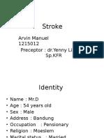Stroke Infark RM