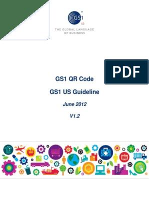 GS1 QR Code Executive Summary - V1 2   Qr Code   Universal