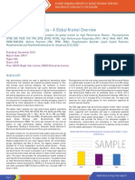 High Performance Plastics - A Global Market Overview