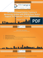 GPS-GPRS + RFID Based Employee Travel Management