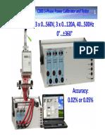 C300 Power Calibrator Presentation En
