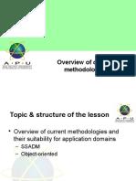 06SAAD-Overviewofcurrentmethodologies