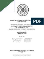 Sampul Dan Halaman Pengesahan PKMP 2