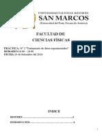 informe 2   - Tratamiento de datos experimentales