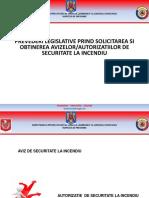 Prevederi Legislative Privind Solicitarea Și Obținerea Avizelor Autorizațiilor de Securitate La Incendiu2