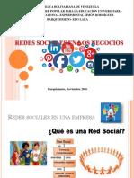 Redes Sociales Presentación Karla