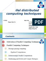 Parallel Distributed Techniques