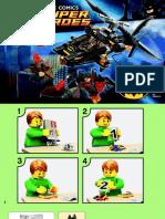 LEGO Bat Copter (Man Bat Attack)