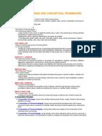 Nursing Theories and Conceptual Framework