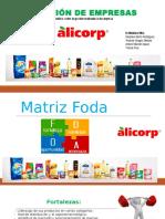 Gestión de Empresas - ALICORP (Matriz)