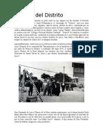 Historia Del Distrito Lince