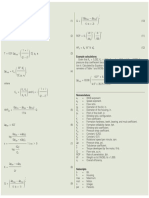 Drilling Equation
