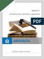 Constitucional -Modulo 7