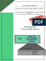 M07-Pose Rev↑tement Papiers Peints-BTP-TPDB