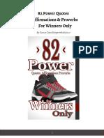 82 Power QAPs