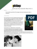 How Virginia Woolf and Vita Sackville-West Fell in Love – Brain Pickings