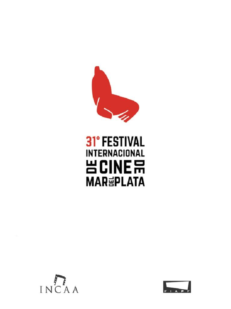775e1123 Catálogo 31º Festival Internacional de Cine de Mar del Plata
