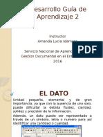 Desarrollo Guia de Aprendizaje 2 Administracion Documental en el Entorno Laboral