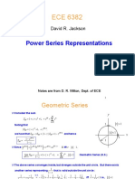 Lecture 6 Power Series