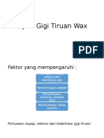 Try-In Gigi Tiruan Wax