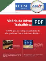 ABRAT garante indispensabilidade de advogado nos Centros de Conciliação