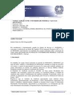 Relatório de Auditória Anual de Contas