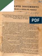 IMPORTANTE DOCUMENTO - FRANCISCO ISIDORO RESQUIN - ANO 1879 - PORTALGUARANI