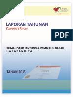 Laporan Tahunan Rsjpdhk Ta 2015