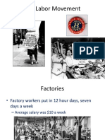 labor movement and big business