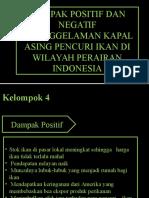 Hukum Lingkungan( Dampak Positif Dan Negatif Penenggelaman Kapal Asing)