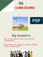 StandardofLivingEconomic Development
