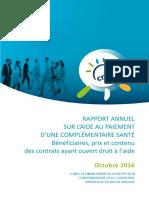 Argus de l'Assurance Rapport ACS 2015 2016