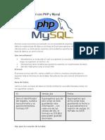 Exportar a Excel Con PHP y Mysql