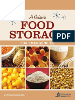 Food Storage Booklet