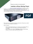 Tera Station r Sync Backup Target