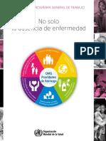Duodécimo Programa General de Trabajo, 2014-2019. OMS