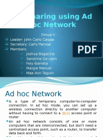File Sharing Using Ad Hoc Network